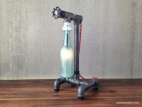 Buy Hand Made Industrial Beer Bottle Lamp