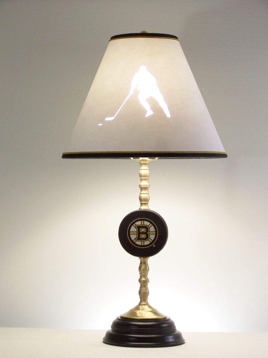 Farmhouse Table Lamps Hand Made Hockey Table Lamp By Barbara Gail's Lamps