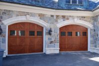 Hand Crafted Garage Doors by New Jersey Hardwoods ...