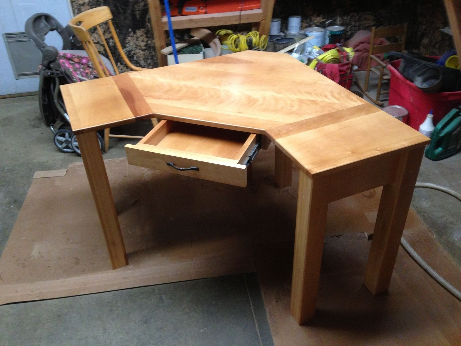 Unique Corner Tables Hand Crafted Custom Corner Desk By Black Swamp Furnishings