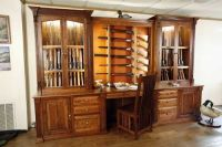 Hand Crafted Amish Made Custom Gun Cabinet by The Woodloft ...