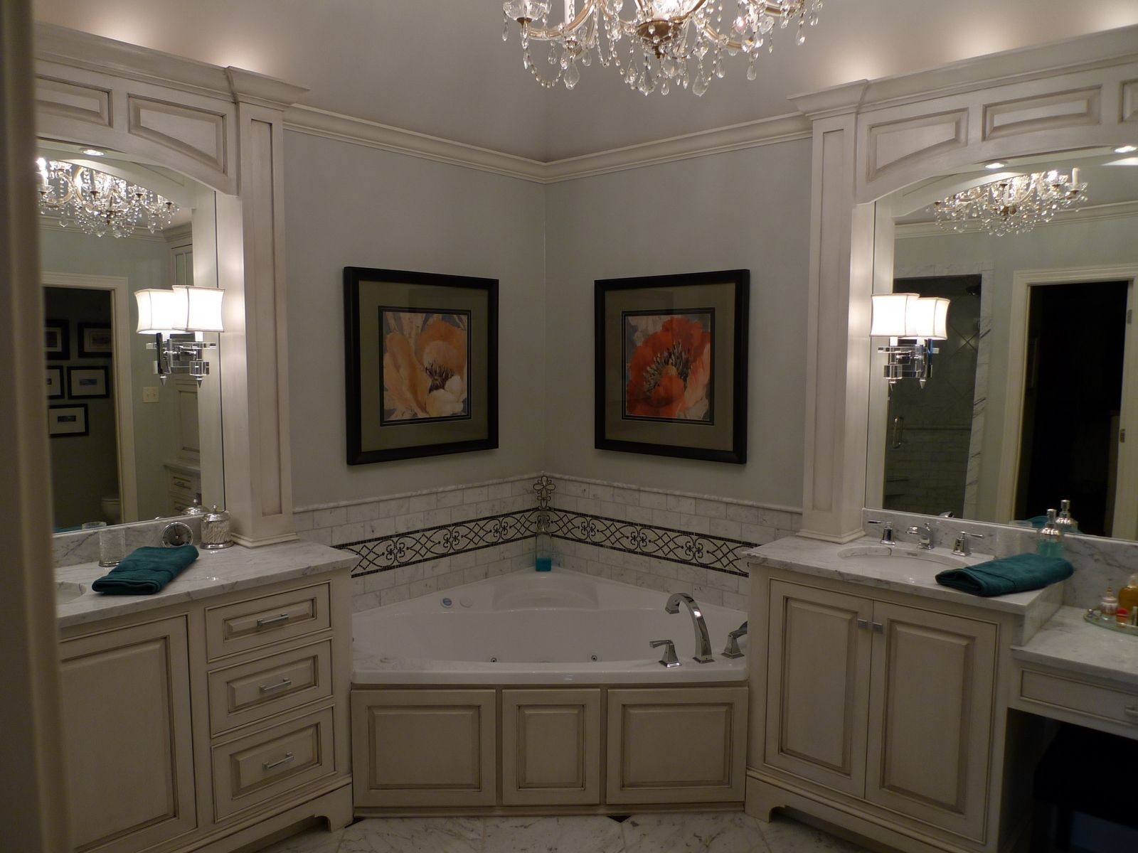 Custom Made Cabinets Hand Made Bathroom Cabinets By Cristofir Bradley Cabinetry