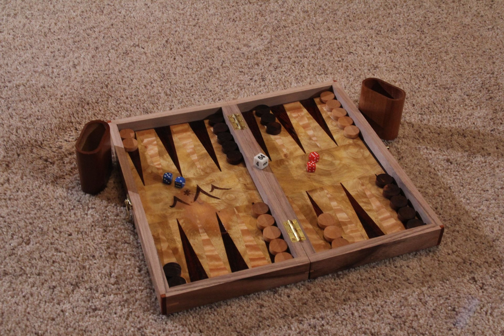 Personalized Chess Set Gift Hand Crafted Custom Chess Backgammon Board By Real