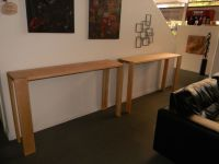 Hand Crafted Michael's Counter Height, Narrow Soft Maple ...