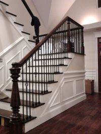 Hand Made Custom Newel Post And Stairs by Wm Pinion Fine ...