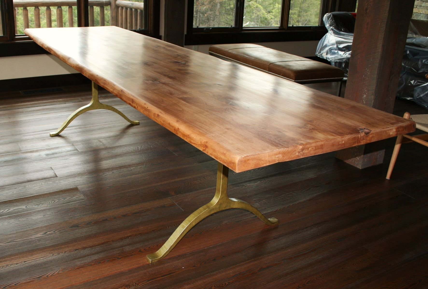 Rustic Beach Coffee Table Handmade Rustic Dining Table By Echo Peak Design