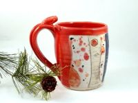 Custom Handmade Ceramic Tea Mug by Blue Sky Pottery ...