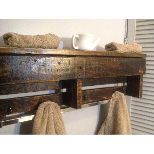 Medium Crop Of Wooden Shelves In Bathroom