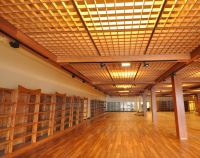 Hand Made Wood Ceiling Grid by ZCI Woodworks | CustomMade.com