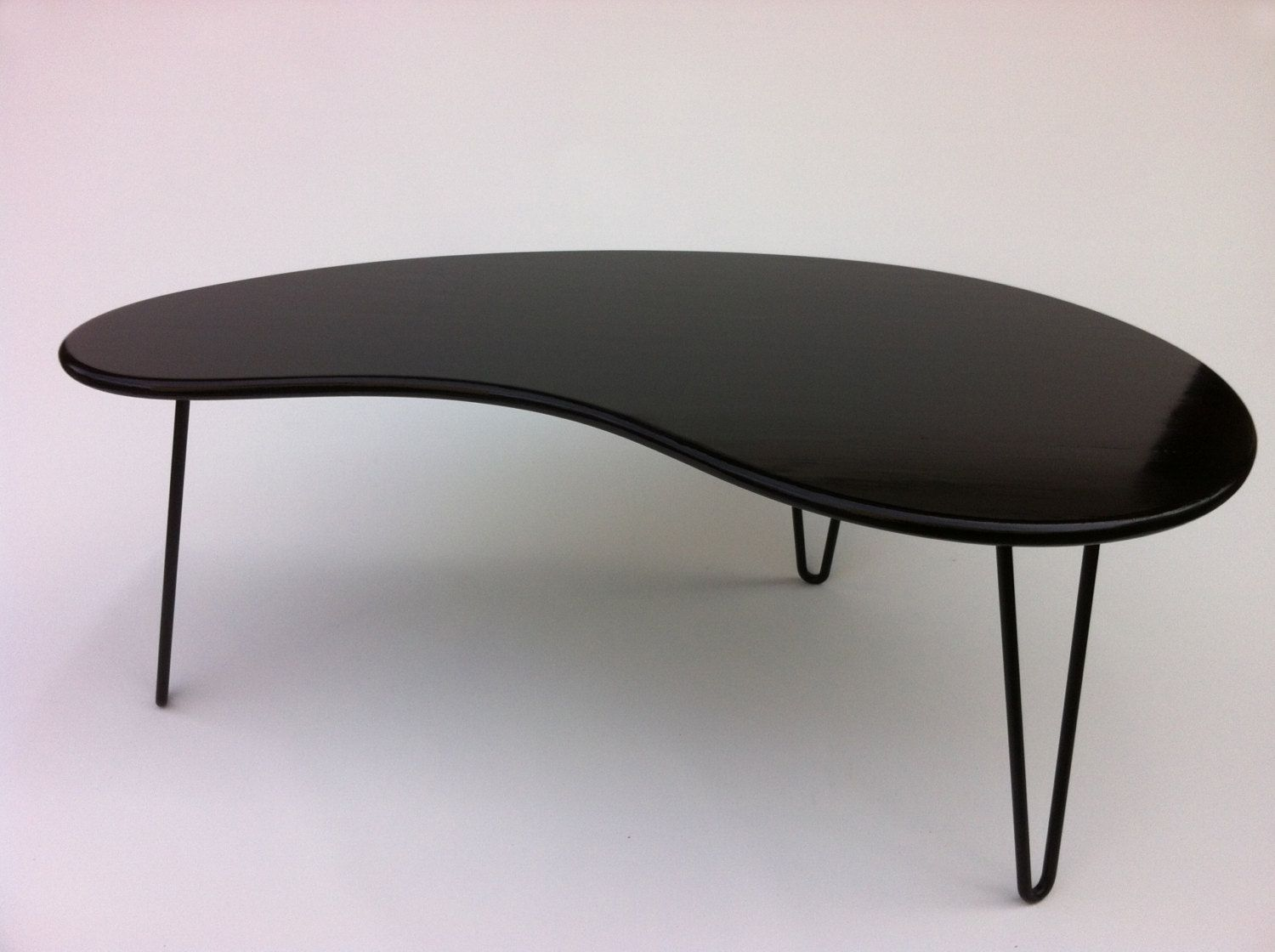 Mid Century Black Coffee Table Buy A Hand Crafted Black Mid Century Modern Coffee Table