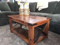 Handmade Rustic Coffee Table by Richter Ranch Custom ...