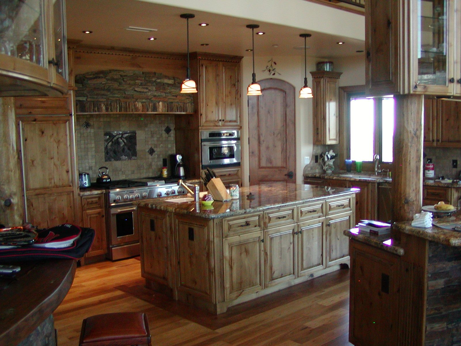 Custom Made Cabinets Hand Crafted Knotty Alder Custom Made Kitchen Cabinets