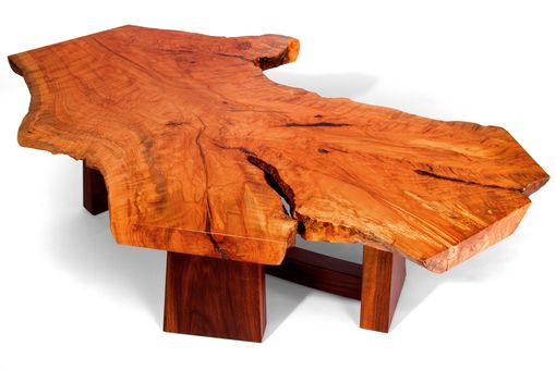Hand Made Live Edge Beech Slab Coffee Table By J Holtz