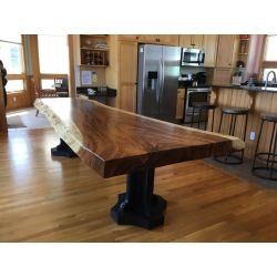 Small Crop Of Live Edge Dining Table