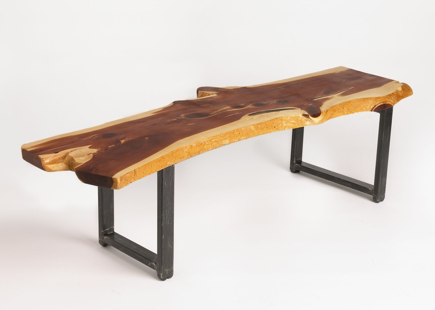 Geeky Coffee Tables Hand Made Cedar Slab Coffee Table By Randy White Wood