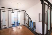 Hand Made Contemporary Wrought Iron Interior Railing With ...