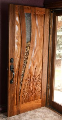 Hand Made Walnut Entry Door by Hughes Woodworks ...