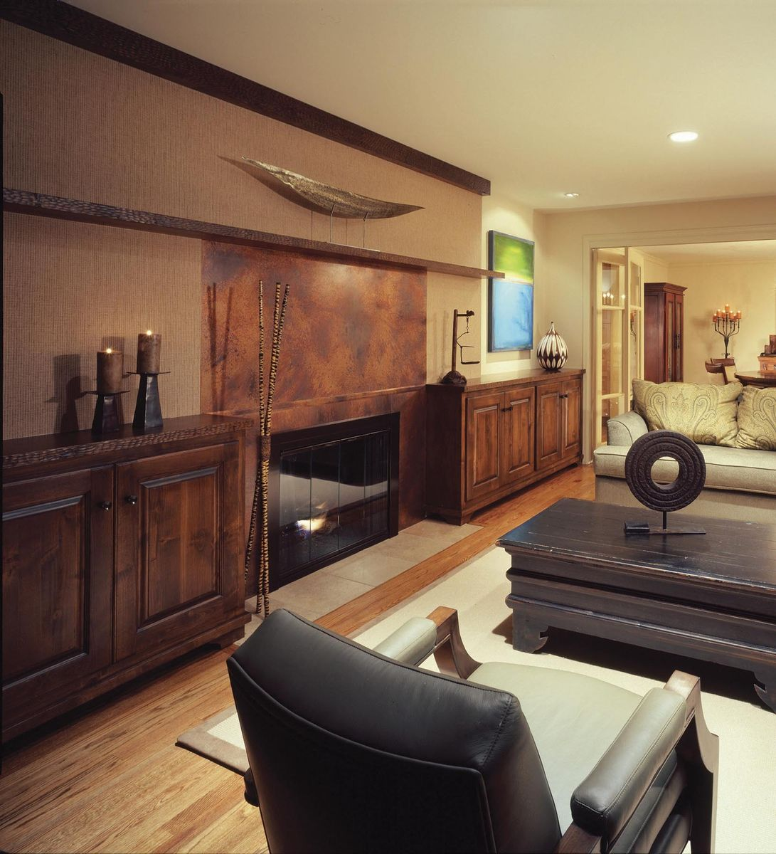 Custom Made Cabinets Hand Crafted Built In Cabinets Living Room By Tilde