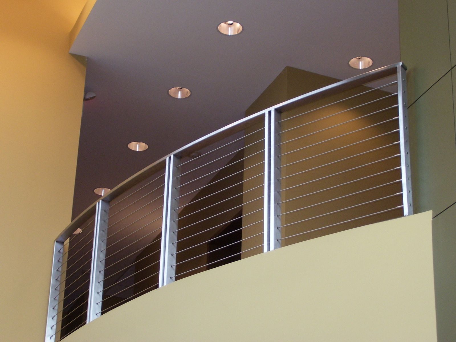 Handmade Stainless Steel Cable Balcony Rail By Foreman