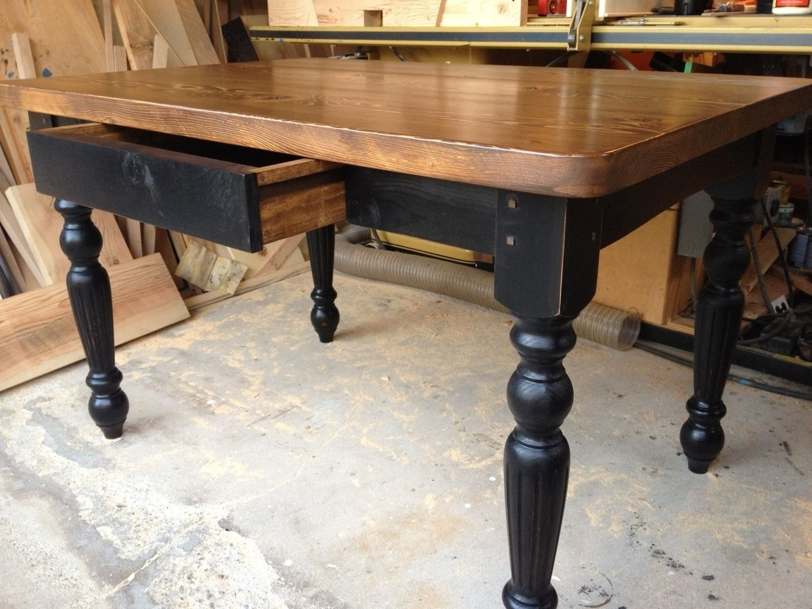 Farmhouse Table Company Hand Made Harradine Kitchen Table By Farmhouse Table