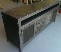 Buy a Custom Industrial Media Console, made to order from ...