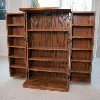 Custom Cd & Dvd Cabinet by Abundant Wood | CustomMade.com