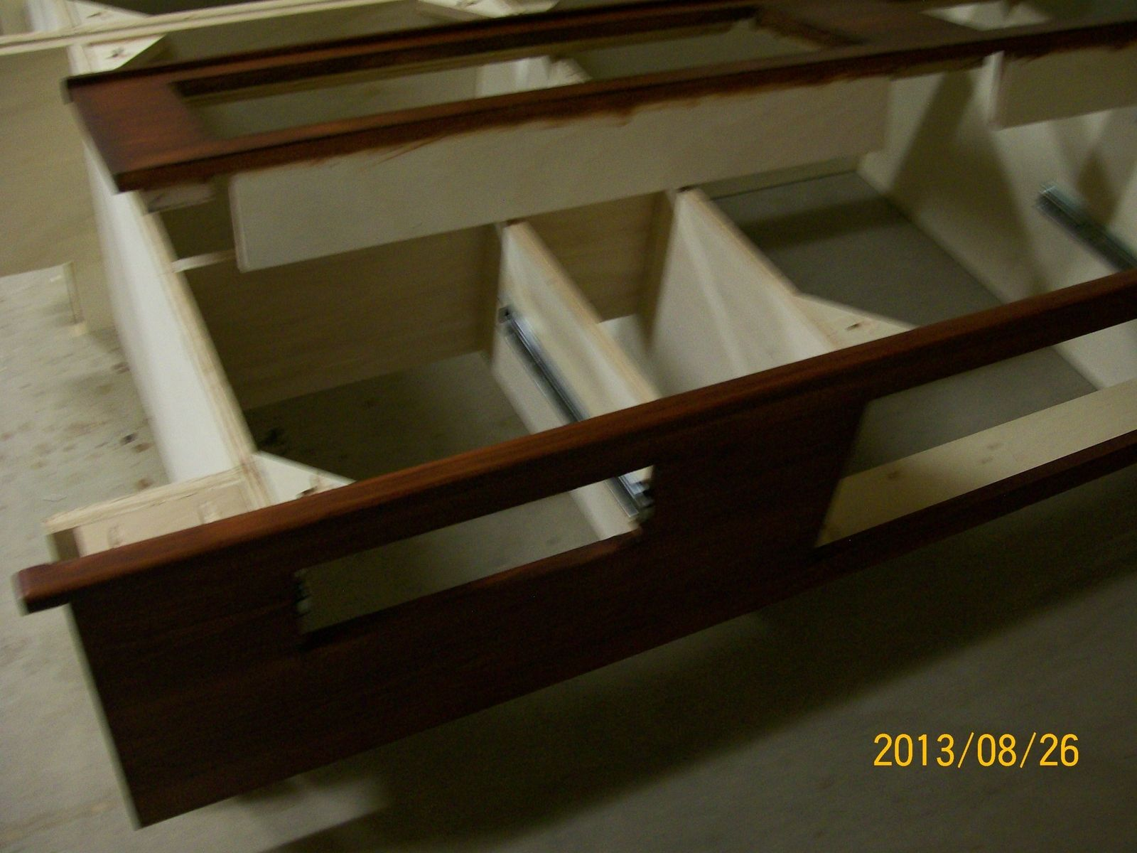 Custom Storage Bed With Six Drawers By Ftc Woodworks