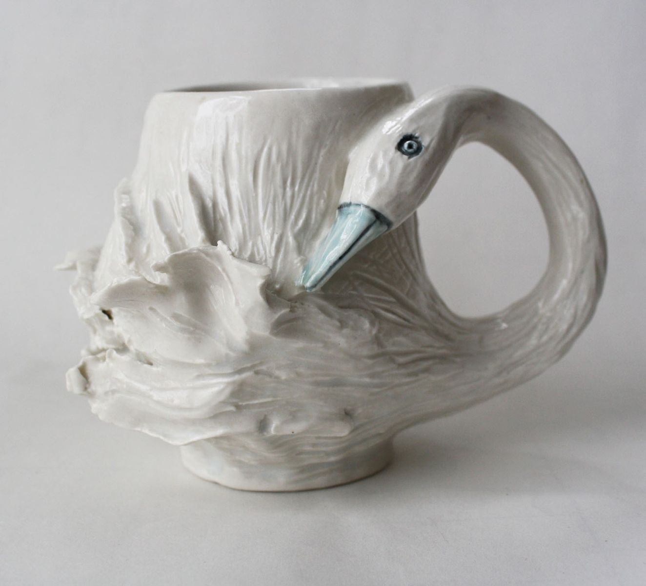 Animal Coffee Mug Hand Crafted Animal Shaped Mugs By Sara E Lynch