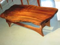 Hand Made Natural Edge Black Walnut Coffee Table by ...