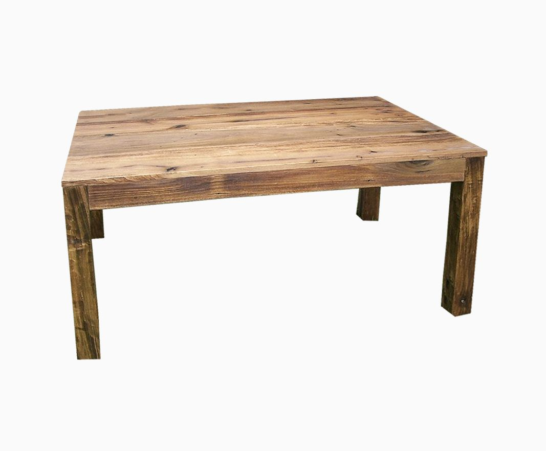 Table Bois Buy A Handmade Reclaimed Antique Wood Parsons Table, Made