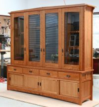 Hand Made Tally Gun Cabinet by White Wind Woodworking ...