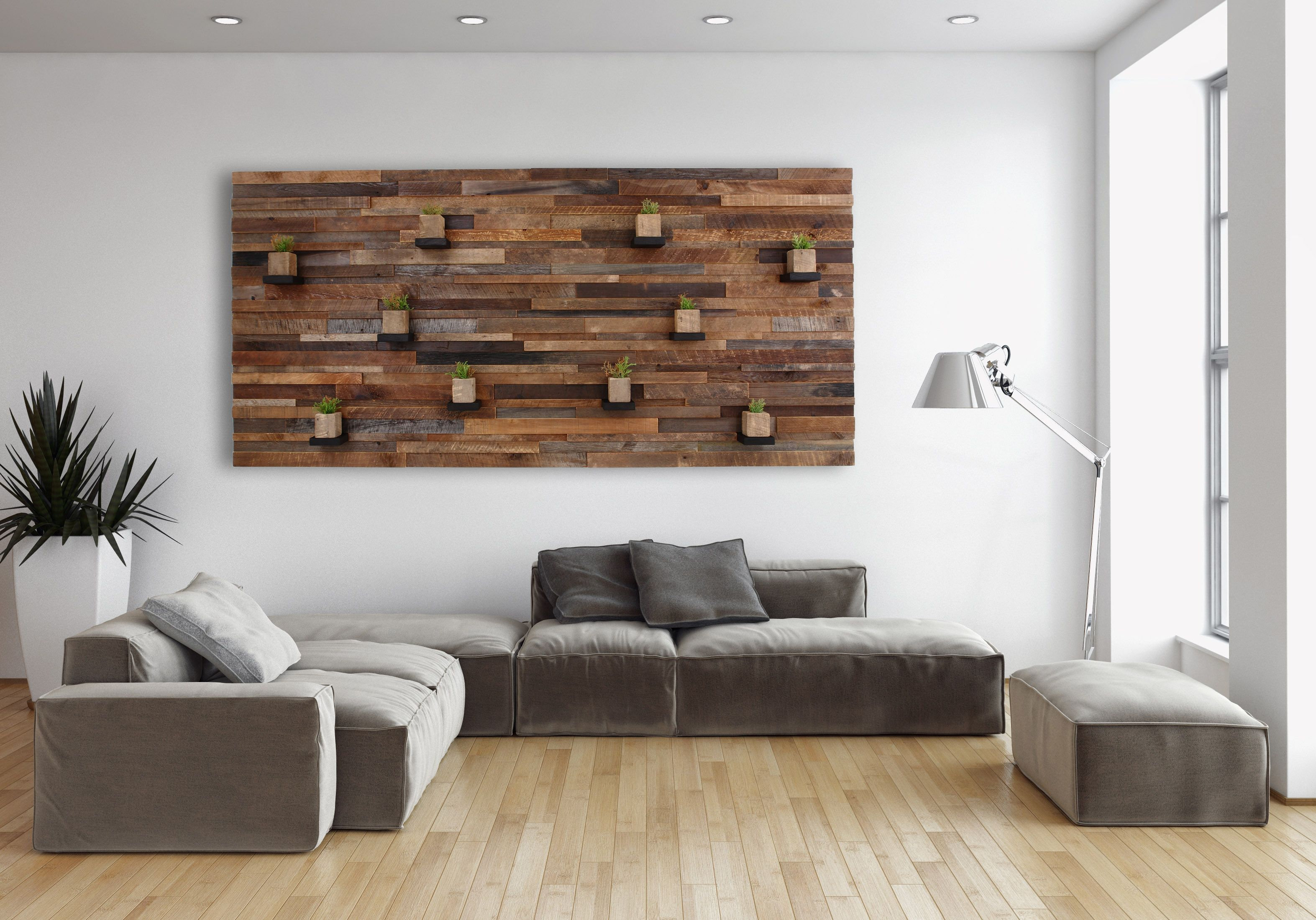Selfmade Wohnideen Hand Made Wood Wall Art With Floating Wood Shelves 84 By