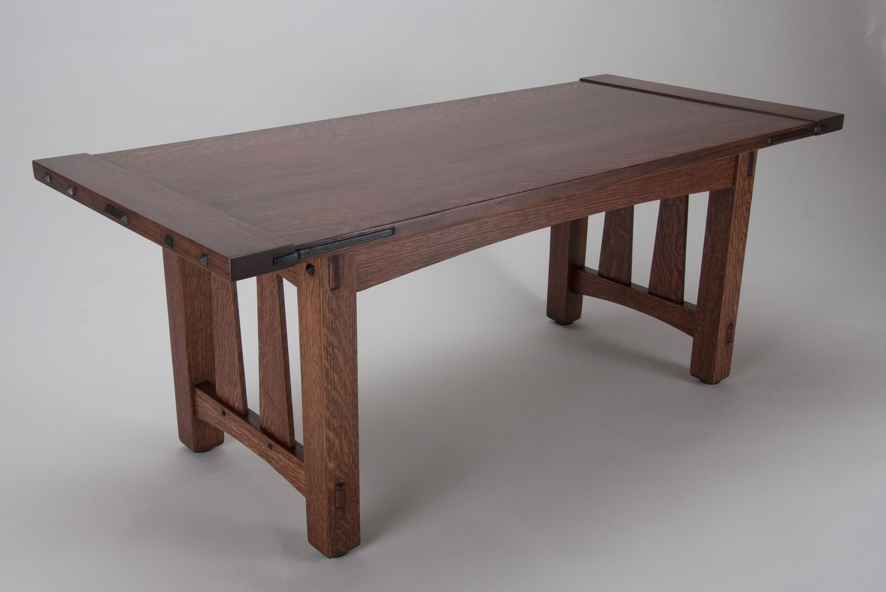 Craftsman style coffee table by james oleson