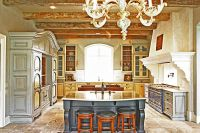Custom Made French Provincial Kitchen by Wood Works Fine ...