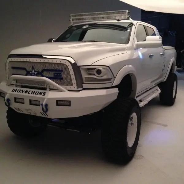 Complete Kit Dual Stacked 50 Inch Led Light Bars For Dodge Trucks