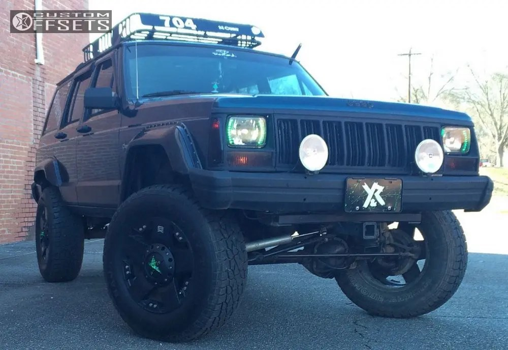 1995 Jeep Cherokee Xd Rockstar Rough Country Suspension Lift 45in
