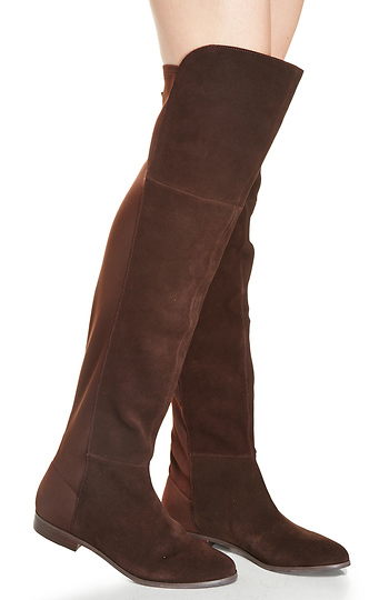 Chinese Laundry Riley Thigh High Boot In Chocolate 55