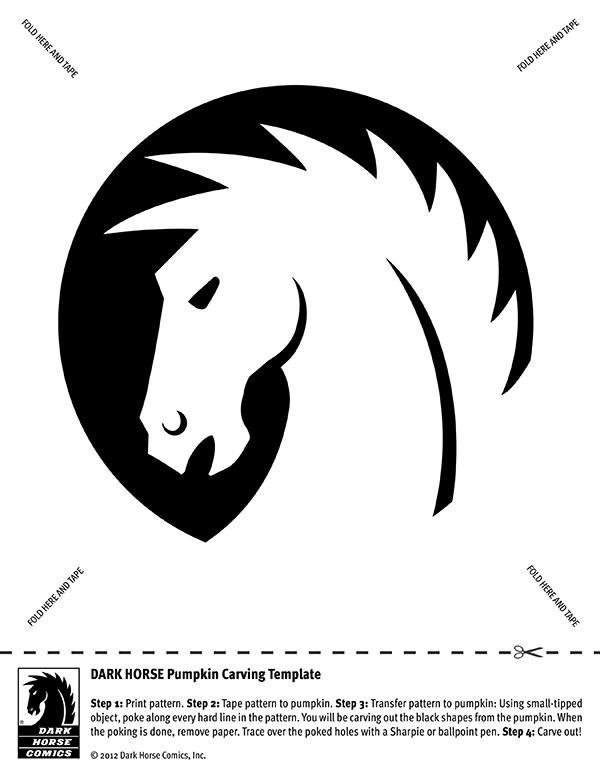 Jack O\u0027Lantern Carving Templates  Blog  Dark Horse Comics