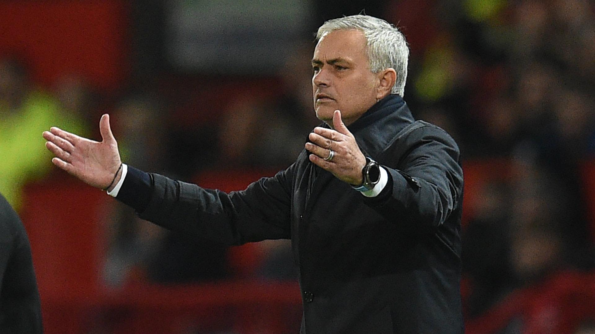 Pretending Injuries Mourinho Takes Shot At Man Utd