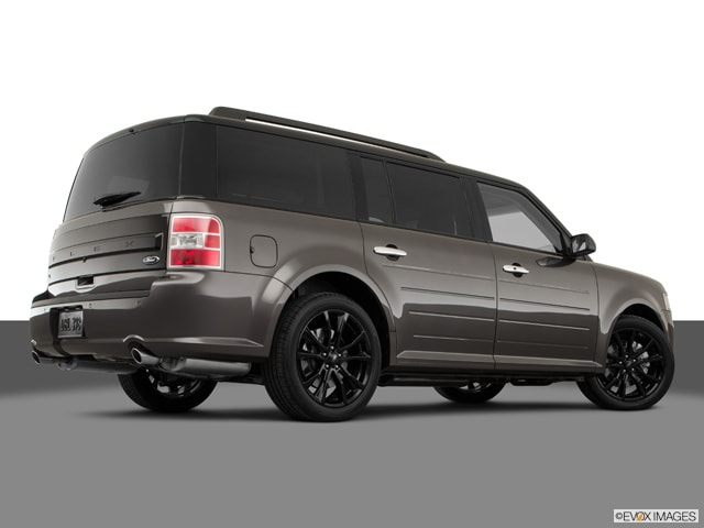 New 2019 Ford Flex Sel Suv Agate Black For Sale In New