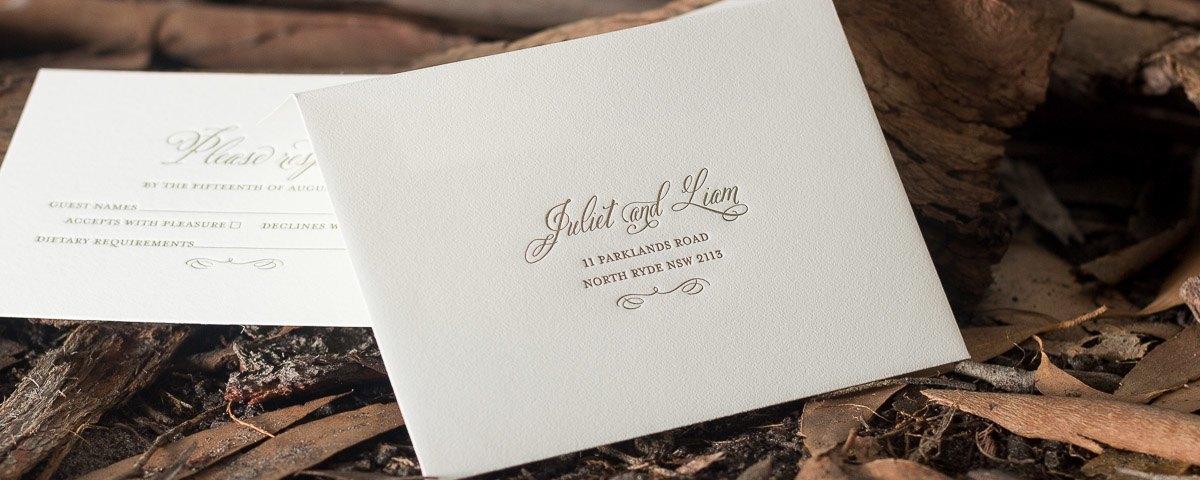 wedding response card envelope - Koranayodhya