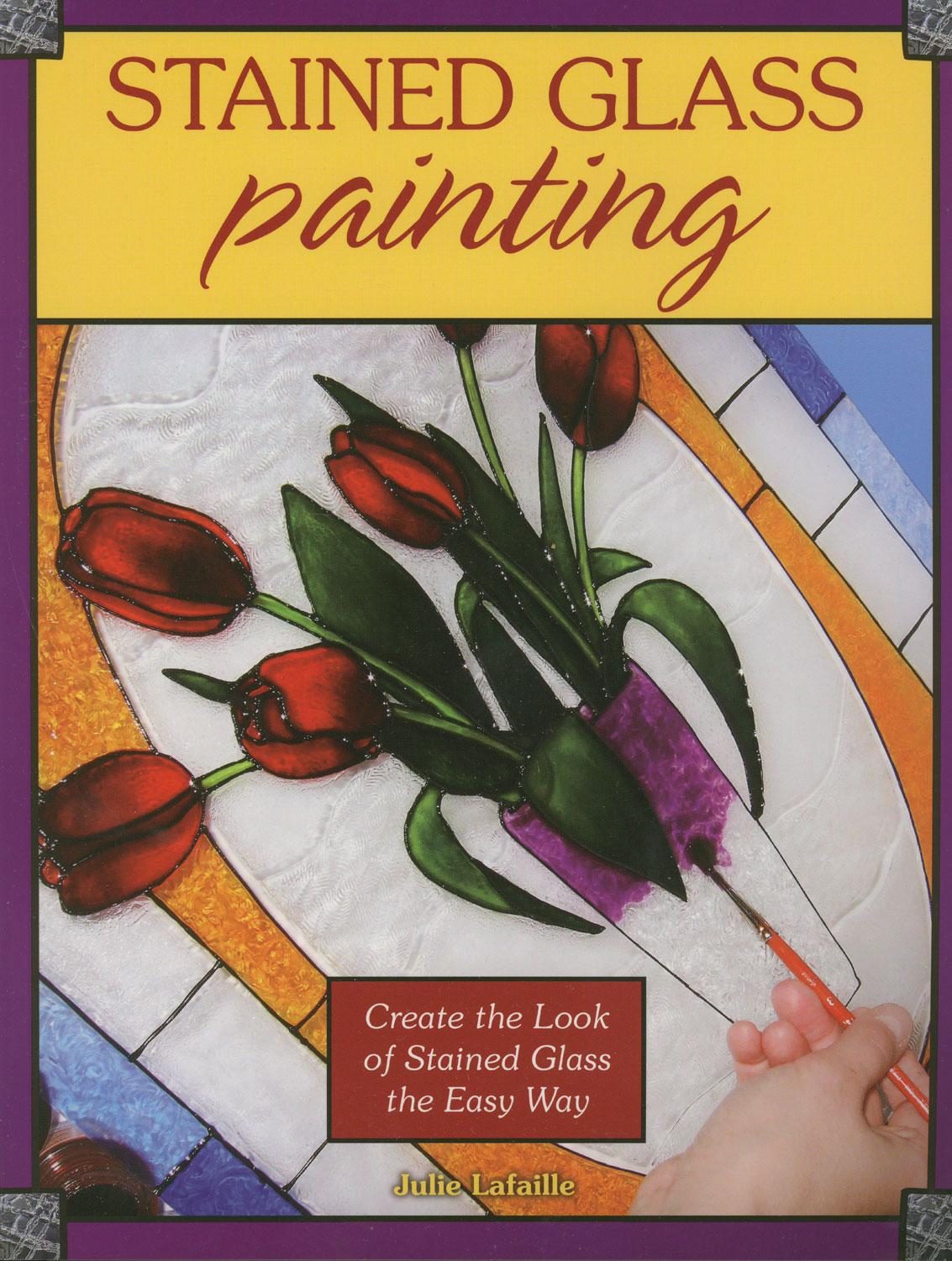 Bulleye Lamp Stained Glass Painting Book | Beginner Projects Delphi