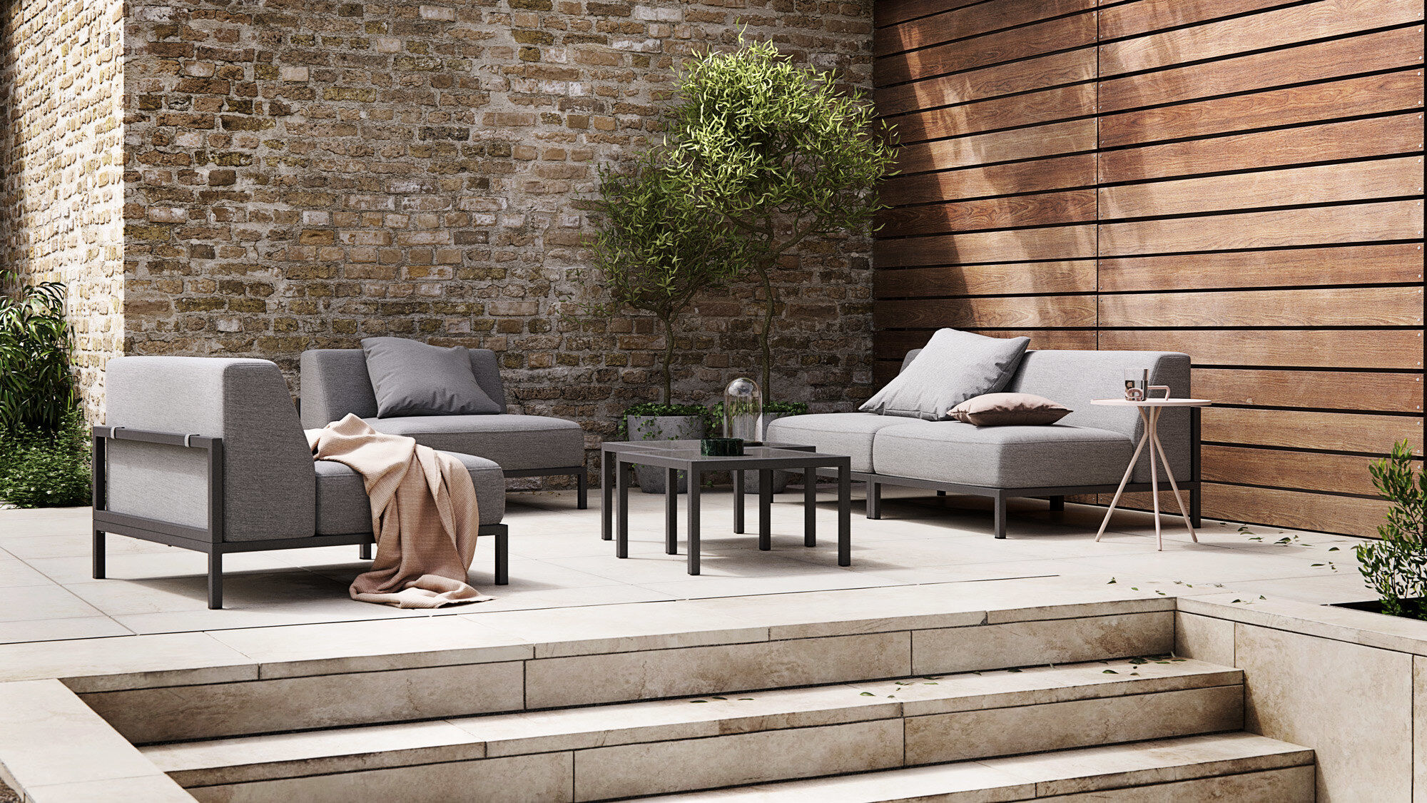 Outdoor Sofas Rome Outdoor Sofa Boconcept - Loungemöbel Outdoor