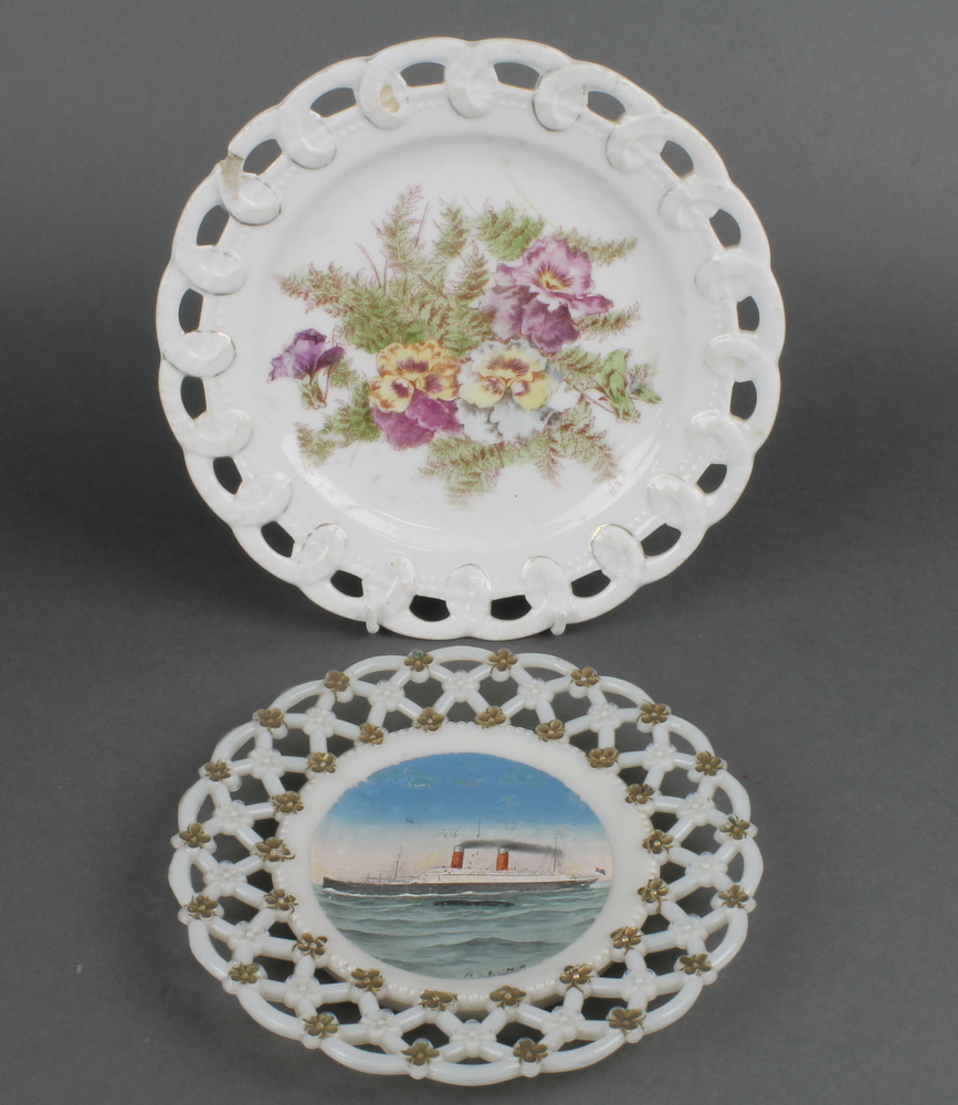'ribbon+plate' in Denhams past antique auctions