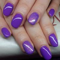 24+ Purple Nail Art, Designs, Ideas | Design Trends ...