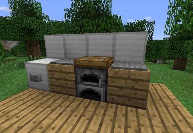 minecraft kitchen interior design minecraft furniture kitchen designer survival kitchen