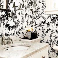 10+ Bathroom Wallpaper Designs | Bathroom Designs | Design ...