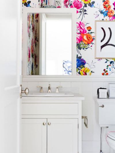 31+ Bathroom Wallpaper Designs | Bathroom Designs | Design Trends