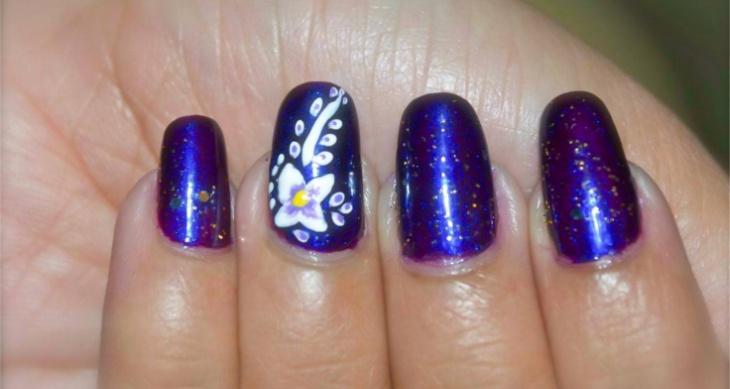 24 Purple Nail Art Designs Ideas Design Trends