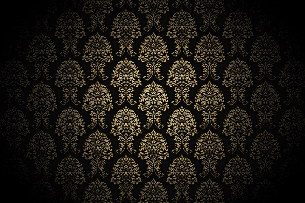 Black Damask Wallpaper 83 Gold Backgrounds Wallpapers Images Pictures